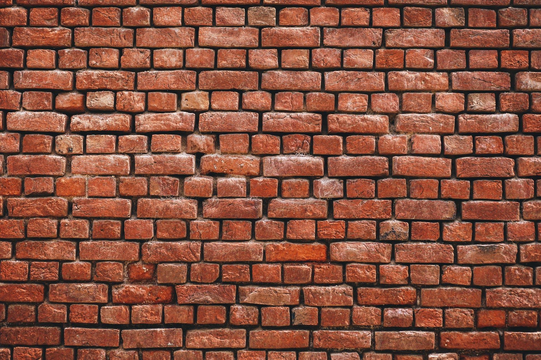 photography of brickwall