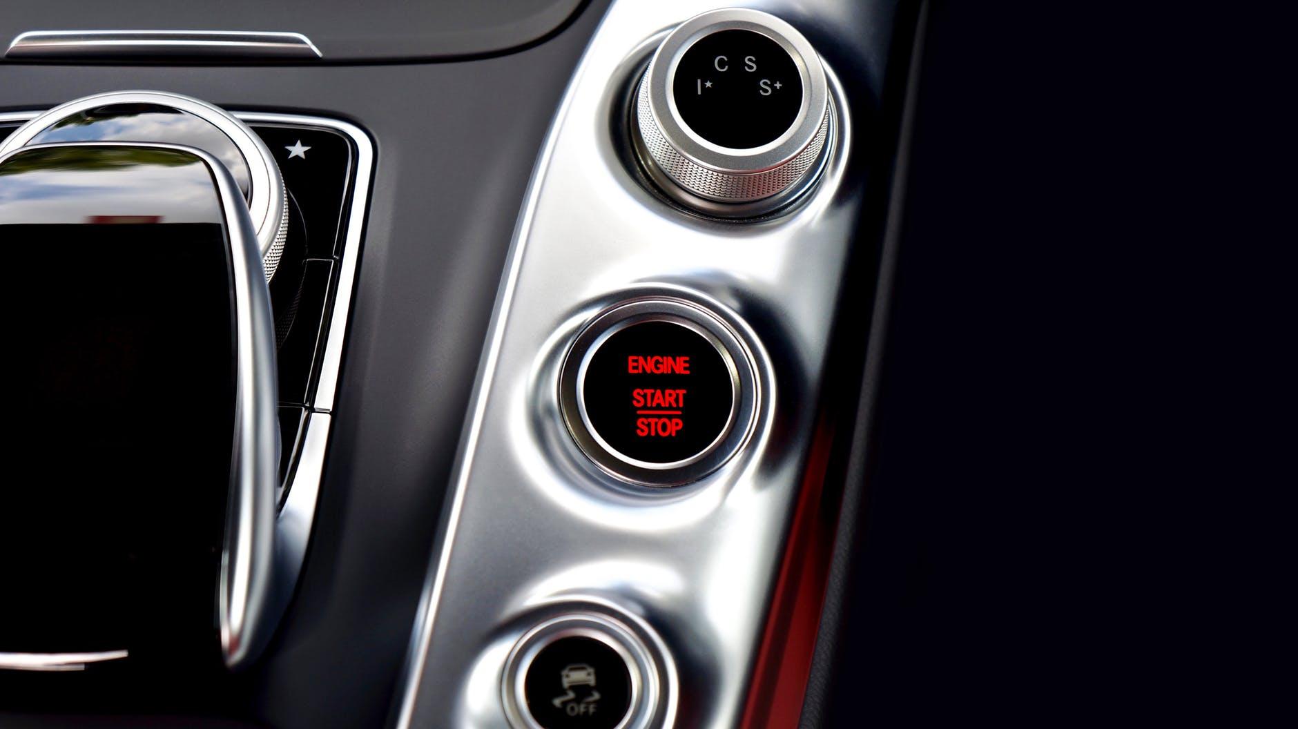 amg gt automobile automotive button